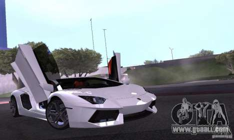 Lamborghini Aventador LP700-4 Final for GTA San Andreas side view