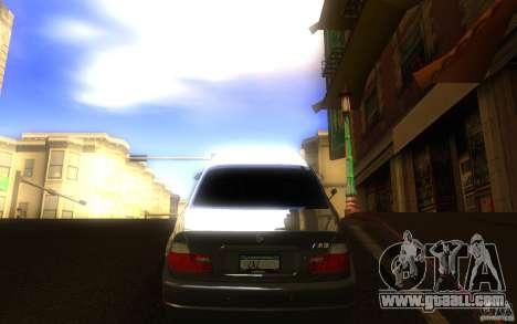 BMW M3 E46 V.I.P for GTA San Andreas right view