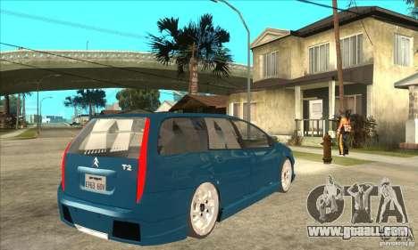 Citroen C5 Break for GTA San Andreas right view