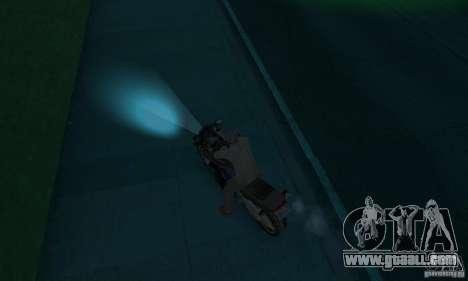 Neon color lamps for GTA San Andreas third screenshot