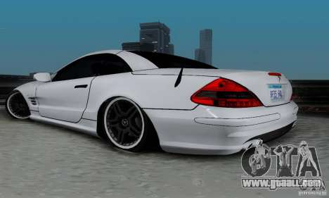 Mercedes Benz SL 65 AMG for GTA San Andreas left view