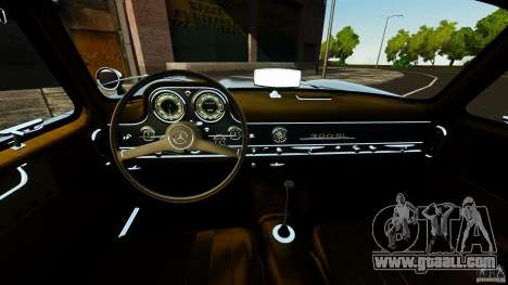 Mercedes-Benz 300 SL GullWing 1954 v2.0 for GTA 4 back view