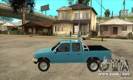 Toyota Hilux CD for GTA San Andreas left view