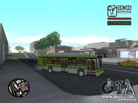 LIAZ 5292.70 for GTA San Andreas back view