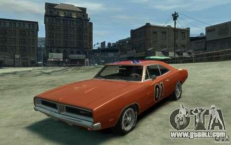 Dodge Charger General Lee v1.1 for GTA 4