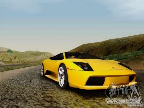 Lamborghini Murcielago LP640-4 for GTA San Andreas left view