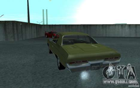 Chevrolet Impala 1971 for GTA San Andreas back view