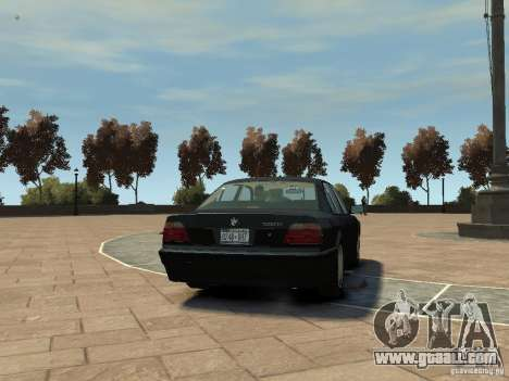 BMW 750i (E38) 1998 for GTA 4 right view