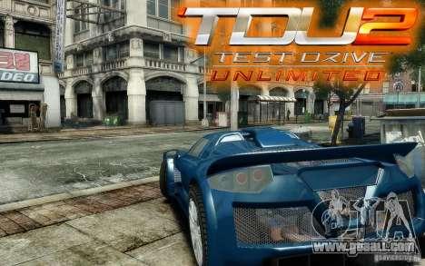 Gumpert Apollo Sport for GTA 4 inner view