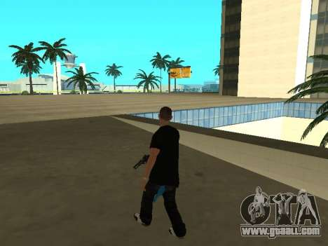 Black Rifa SkinPack for GTA San Andreas forth screenshot