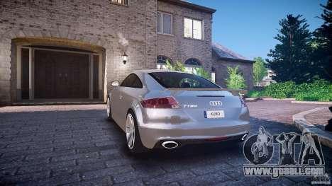 Audi TT RS 2010 for GTA 4 wheels