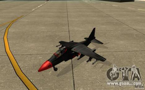 Black Hydra v2.0 for GTA San Andreas left view