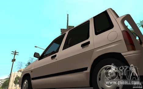 Daewoo Tico SX for GTA San Andreas back view