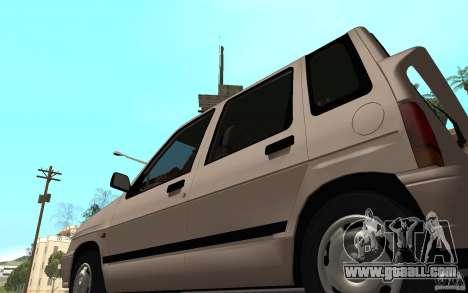 Daewoo Tico SX for GTA San Andreas back view