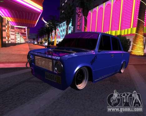VAZ 2101 Drift Car for GTA San Andreas