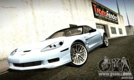 Chevrolet Corvette ZR-1 for GTA San Andreas