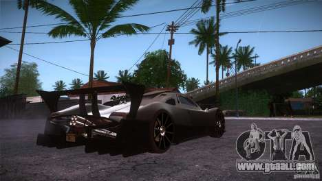 Pagani Zonda R for GTA San Andreas right view