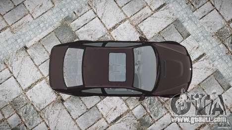 BMW M3 e46 2005 for GTA 4 upper view