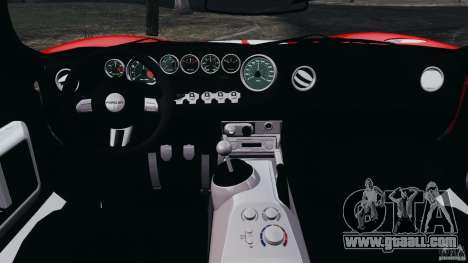 Ford GT 2005 v1.0 for GTA 4 back view