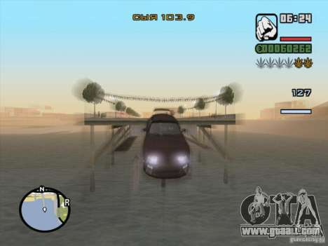 Stop time for GTA San Andreas