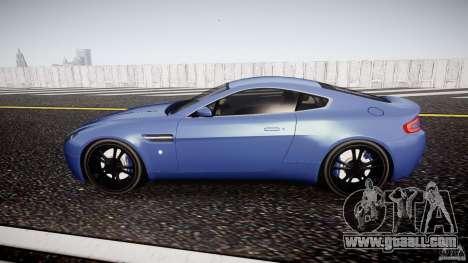 Aston Martin V8 Vantage V1.0 for GTA 4 left view