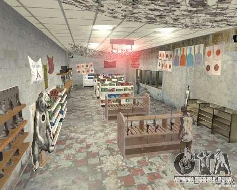 A bustling shop Ammu-Nation v3 (Final) for GTA San Andreas