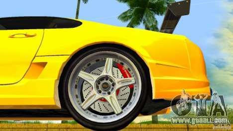 Toyota Supra JZA80 C-West for GTA Vice City inner view