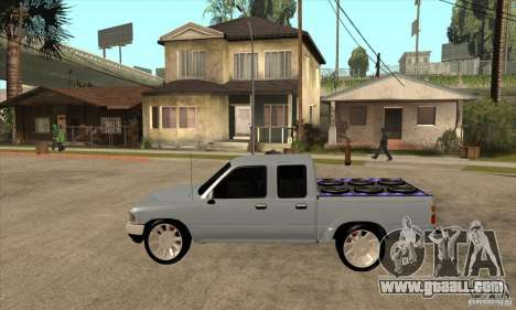 Toyota Hilux Surf v2.0 for GTA San Andreas left view