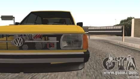 Volkswagen Passat TS 1981 Original for GTA San Andreas right view