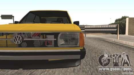 Volkswagen Passat TS 1981 Original for GTA San Andreas right view