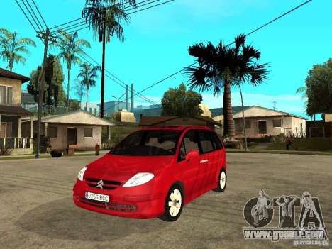 Citroen C8 for GTA San Andreas