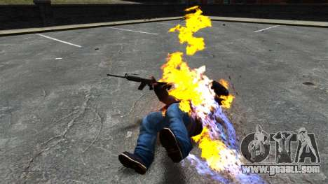 Fire bullets for GTA 4 third screenshot