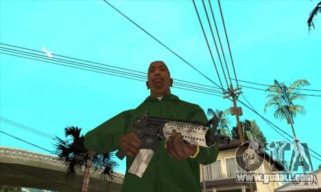 M4 Buttstock for GTA San Andreas