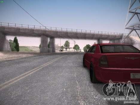 Chrysler 300C SRT8 for GTA San Andreas back view