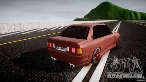 BMW E30 v8 for GTA 4 side view