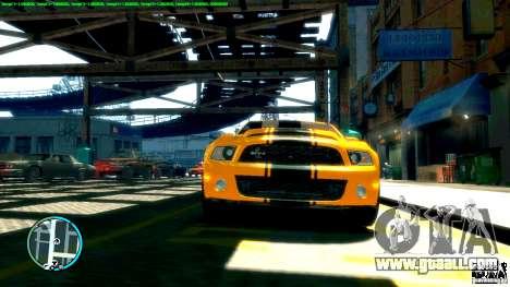 Shelby GT500 Super Snake 2011 for GTA 4 back left view