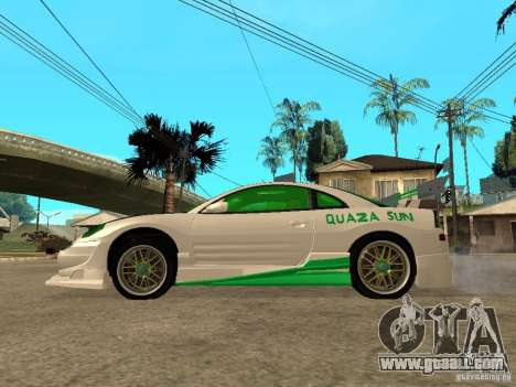 Mitsubishi Eclipse Midnight Club 3 DUB Edition for GTA San Andreas left view