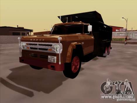 Dodge Dumper for GTA San Andreas