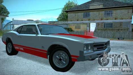 Sabre GT From GTA IV for GTA San Andreas right view