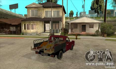 Anadol Pickup for GTA San Andreas right view