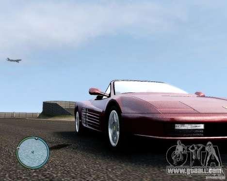 Ferrari Testarossa for GTA 4 back view