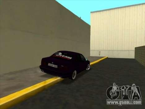 BMW M5 E34 NeedForDrive for GTA San Andreas right view