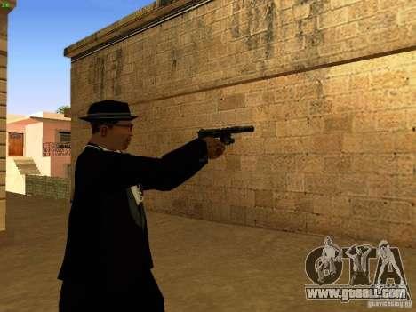USP45 Tactical for GTA San Andreas fifth screenshot