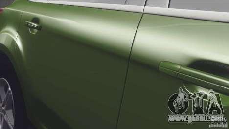 Ford Focus sedan for GTA San Andreas back left view