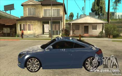Audi TT 3.2 Coupe for GTA San Andreas left view