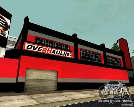 OVERHAULIN Workshop for GTA San Andreas fifth screenshot