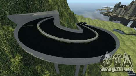 MG Downhill Map V1.0 [Beta] for GTA 4 third screenshot