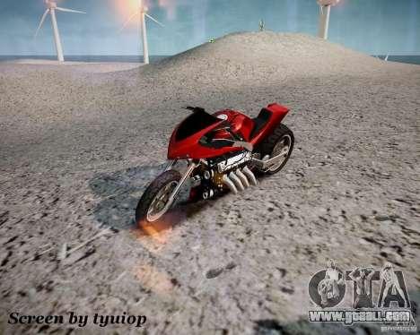 Drag Bike for GTA 4