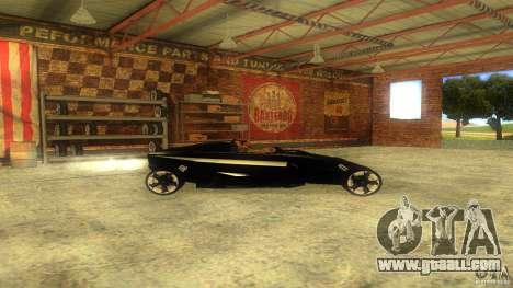 Lamborghini Concept for GTA San Andreas left view