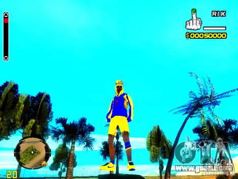 Skin bum v2 for GTA San Andreas second screenshot